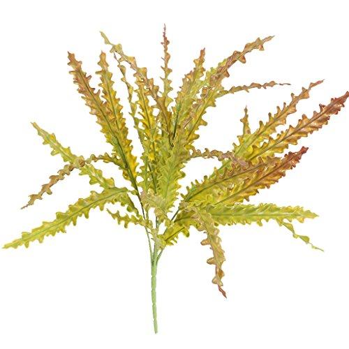 Künstliche Seetang Gras 5 Branch Laub Kunststoff Pflanze Haus Garten Dekor - multi2 (Haus Und Garten Dekor)