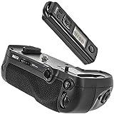 Meike Batteriegriff Akkugriff Battery Grip für Nikon D850 ersetzt den Nikon MB-D18 inkl. Fernauslöser mit 2.4 Ghz Funk Frequenz bis zu 100m Reichweite – MK-D850 Pro