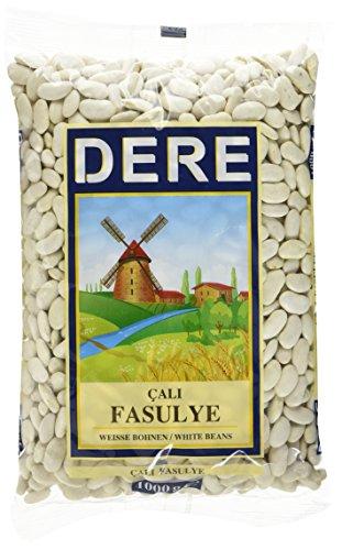 DERE Weiße Bohnen Cali Fasulye, 6er Pack (6 x 1 kg)
