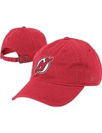 NHL Eishockey slouch Baseballcap/Basecap NEW JERSEY DEVILS Logo adjustable