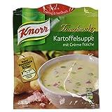 Knorr Feinschmecker Kartoffel mit Crème fraîche Suppe 2 Teller