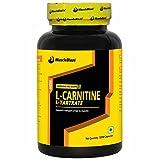 #7: MuscleBlaze L-Carnitine L-Tartrate, 120 capsules Unflavoured