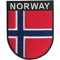 Yantec Wappen Patch Norwegen Aufnäher Norway