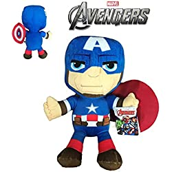 Marvel - Peluche Capitan America 30cm Calidad super soft