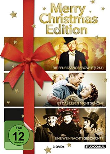 Bild von Merry Christmas Edition ( Die Feuerzangenbowle / Ist das Leben nicht schön ? / Eine Weihnachtsgeschichte ) [3 DVDs]