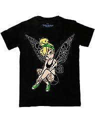 Inkerbelle Tattoo Unisex T Shirt