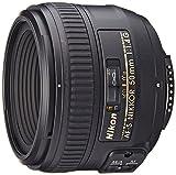 Nikon AF-S 50mm F1.4 G - Objetivo para Nikon (Distancia Focal Fija 50mm, Apertura f/1.4) Color Negro...