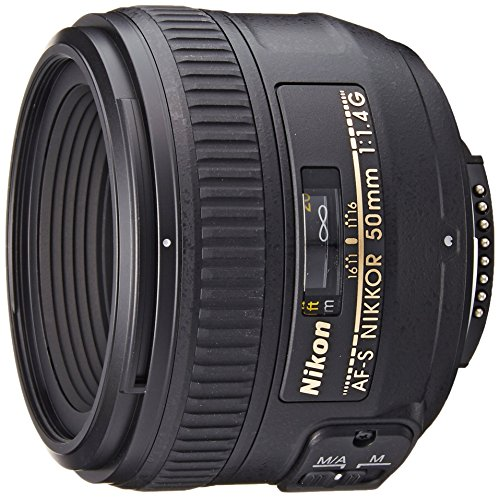 Nikon 50mm F1.4G AF-S Nikkor Lens (Certified Refurbished)