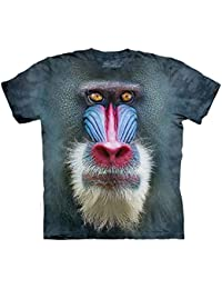The Mountain Unisexe Enfant Baboin Mandrill T Shirt