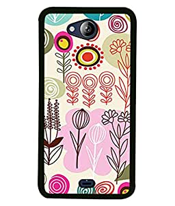 PrintVisa Designer Back Case Cover for Micromax Canvas Play Q355 (Cute rabbit Grey background squirrel Designer Case Cool Cell Cover Attractive Smartphone Cover Animal planet panda )