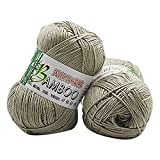 Cooljun Essential Wool Balls - Fil de Coton Bambou - Assorted Colors - Ideal for Any...