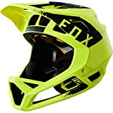 Fox Proframe Mink Helmet, Yellow/Black, Größe L
