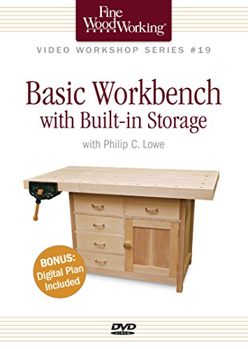 Basic Workbench With Built-In Storage (Fine Woodworking Video Workshop) -