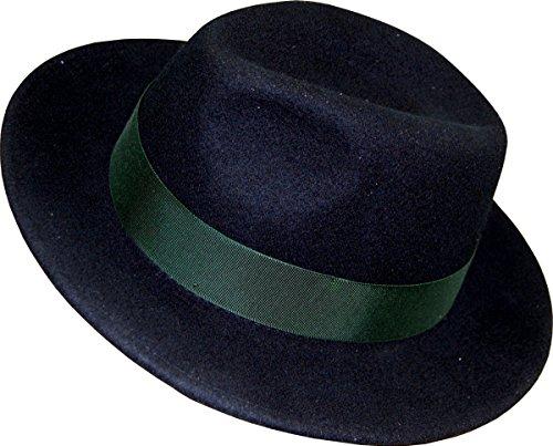 Herren Wollfilzhut Traveller von Faustmann, Farben:schwarz;Hutgröße:57