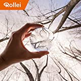 Rollei Lensball Photo Glass Ball / Crystal Ball Made from Optically Coated K9 Glass Ideal for DSLR, DSLM and Smartphones