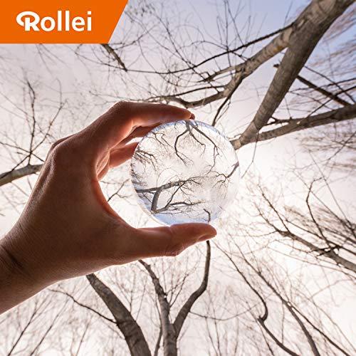 Rollei Lensball 60 mm - Bola de Vidrio Transparente y Claro para Fotografía f93e1d63262b2
