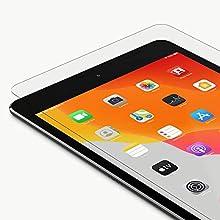 Belkin iPad 7th Generation Screen Protector (ScreenForce TemperedGlass Screen Protector for iPad 7th gen, iPad Air 3, iPad Pro 10.5 Inch) iPad Air 3 Screen Protector, iPad Pro Screen Protector