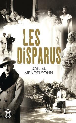 Les disparus par Daniel Mendelsohn