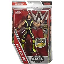 Wwe Mattel Elite Serie 52 Figura de acción de Lucha Libre - SETH ROLLINS the Shield con World RESISTENTE Cinturón de campeón accesorios para Figura Juguete