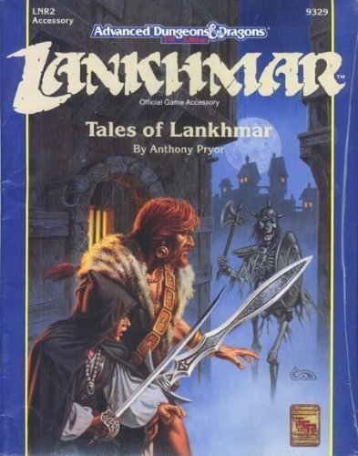 Tales of Lankhmar (Advanced Dungeons and Dragons Module LNR2) by Anthony Pryor (1991-07-01) par Anthony Pryor