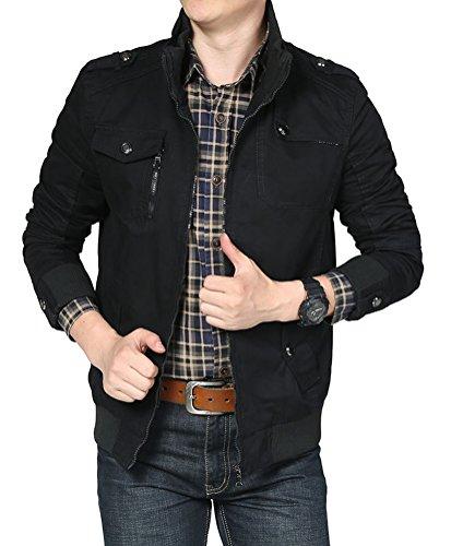 Homme Homme Veste Automne Jacket 8vw5qi Militaire Pour Veston Blouson Brinny SzZqXSBHr