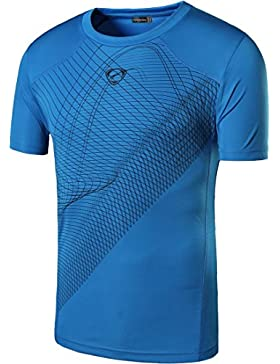 [Patrocinado]Sportides Boy Quick Dry Active Sport Short Sleeve Breathable T-Shirt Casual tee Top LBS701