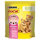 Go-Cat Crunchy and Tender Kitten Dry Cat Food Chicken 800g - Case of 4 (3.2kg)