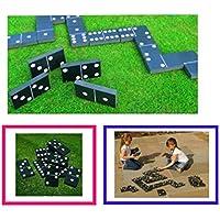 Preisvergleich für riesigen Domino Summer Garden Outdoor Familie Kinder Spiel Spielzeug Party Spaß Dominosteine