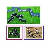 riesigen Domino Summer Garden Outdoor Familie Kinder Spiel Spielzeug Party Spaß Dominosteine