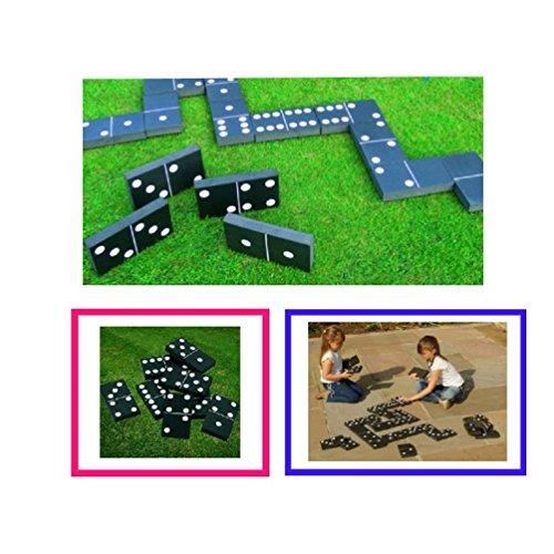 Neuf Dominos géants d'été Jardin extérieur Famille Enfants Jeu Jouet Party Fun Dominos