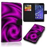 Book Style Alcatel One Touch Go Play 7048X Tasche Flip Brieftasche Handy Hülle Kartenfächer für Alcatel One Touch Go Play 7048X - Design Flip SVH137