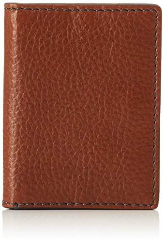 Fossil Herren Geldbörse- Richard Bifold Kartenmäppchen, Braun (Brown), 10.16x1.27x7.62 cm
