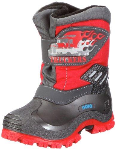 Nora Trucker 78106 Unisex - Kinder Stiefel Rot (Rot 12)