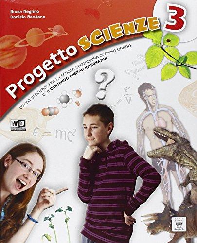 Progetto scienze. Per la Scuola media. Con DVD. Con e-book. Con espansione online: 3