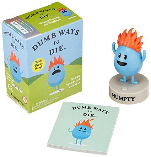 Dumb Ways To Die. Numpty Figurine (Running Press Mini Kit) por Vv.Aa