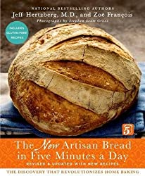 { THE NEW ARTISAN BREAD IN FIVE MINUTES A DAY: THE DISCOVERY THAT REVOLUTIONIZES HOME BAKING (SECOND EDITION, REVISED AND UP) } By Hertzberg, Jeff ( Author ) [ Oct - 2013 ] [ Hardcover ]