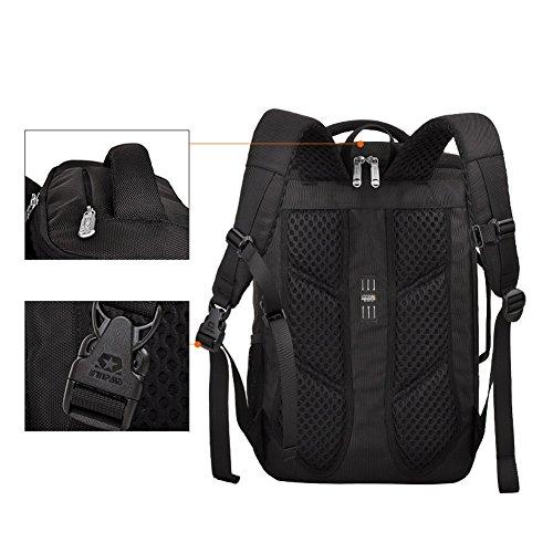 YAAGLE Schick Business Taschen Rucksack Laptoptasche Schüler Schultasche koreanisch Gepäck Geschenk Schultertasche Reisetasche-khaki black