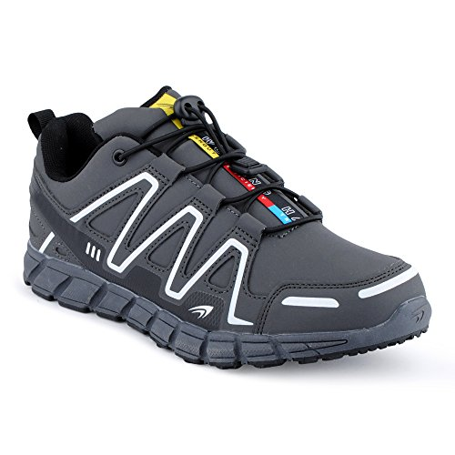 Fivesix Mulheres Dos Homens Da Sapatilha Sapatos Desportivos Correndo Lazer Multicoloridas Corredores Aptidão Baixo Sapatos Unissex Cinza-m