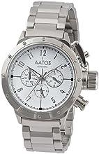 Comprar Aatos PaltusSSW - Reloj de caballero automático, caja y correa de metal plateado