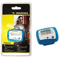 Diadora Fitness A-9989MS6 Pedometro per Distanza, Calorie, Passi, Blu