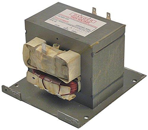 HV-Transformator DPC10788620 für Mikrowelle 50Hz primär 220/230V Klasse 220 (Mikrowelle Transformator)