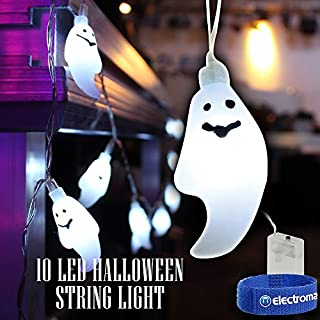 Halloween LED Battery String Fairy Lights Scary Ghosts Spooky Decorations