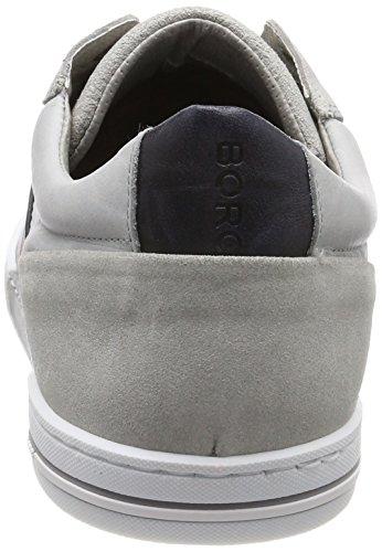 Björn Borg Hyde Rto M, Sneaker Uomo Mehrfarbig (gris Claro-navy)
