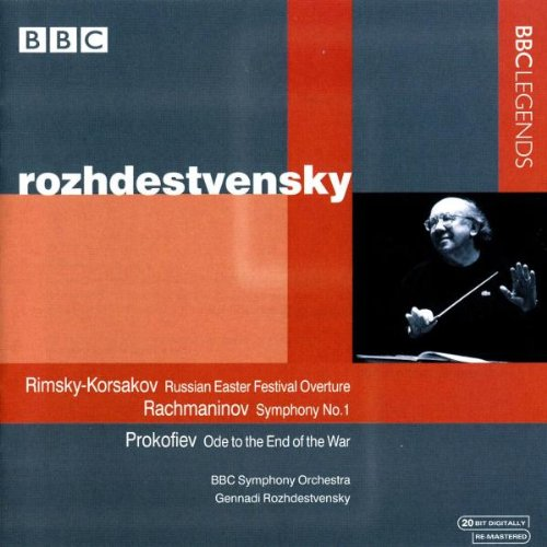 Rozhdestvensky Dirigiert Russische Werke (Bbc-videos)