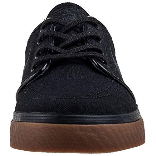 Nike Zoom Stefan Janoski Cnvs, Scarpe De La Planche À Roulettes Uomo Nero (blackanthracitegum Med Brown 020)