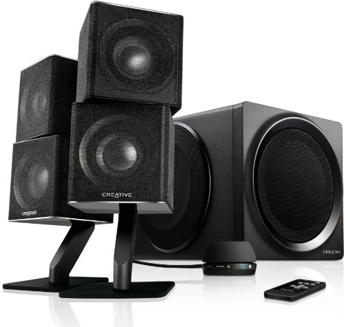 Creative T6 Series II Signature - Altavoces de ordenador Bluetooth (mando a distancia, USB, cable RCA), negro
