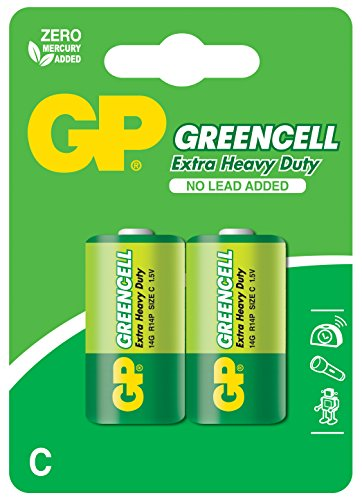 GP Batteries 5563 LR14 Blister de 2 Piles 1,5 V