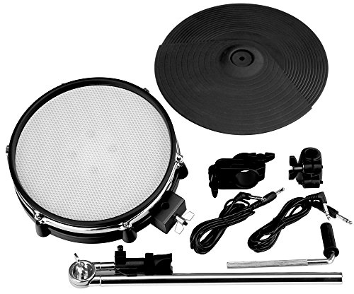 XDrum DD-530 Mesh Add On Pack (Erweiterungs-Set für DD-530 E-Drum-Set, 10
