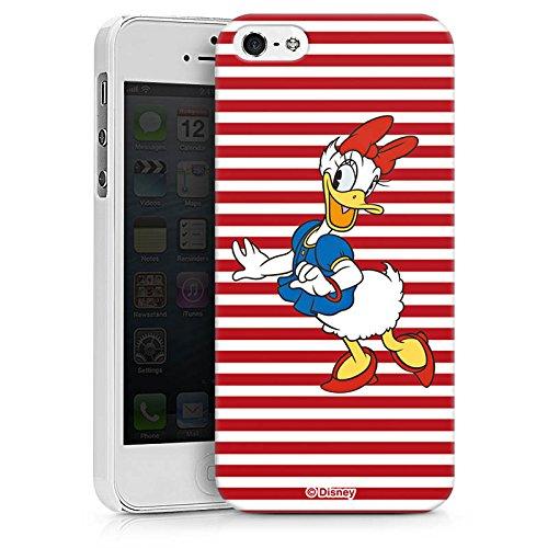 Apple iPhone X Silikon Hülle Case Schutzhülle Disney Daisy Duck Fanartikel Merchandise Hard Case weiß