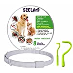 flea and tick collar for dog cat, 8 months protection in safety ingredients control, premium care with two tick remover tool to remove fleas, ticks, lice and mosquitos Flea and Tick Collar for Dog Cat, 8 Months Protection in Safety Ingredients Control, Premium Care with Two Tick Remover Tool to Remove Fleas, Ticks, Lice and Mosquitos 51Az 2BVk 2BxL